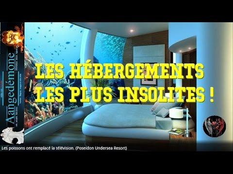 Le top des h tels les plus insolites du monde vid os google youtube - Les hotels les plus insolites ...