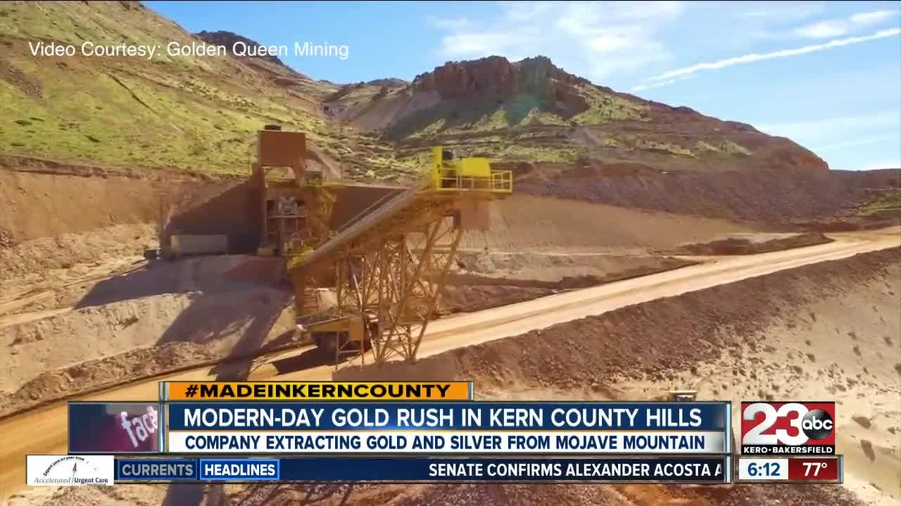 Made In Kern County: Golden Queen Mining Company