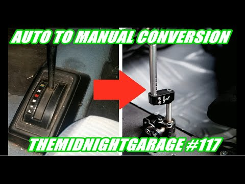 How to do an auto to manual conversion in your Honda | Themidnightgarage #117