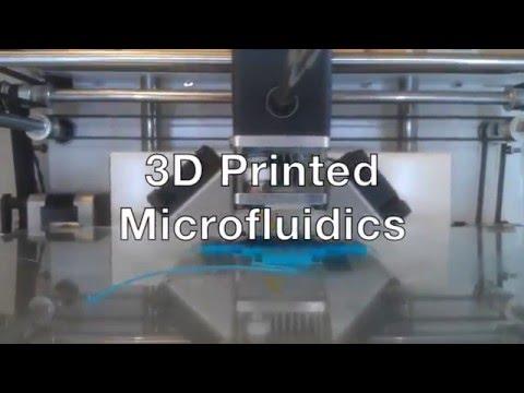 3D Printed Microfluidics For Stem Cell Encapsulation