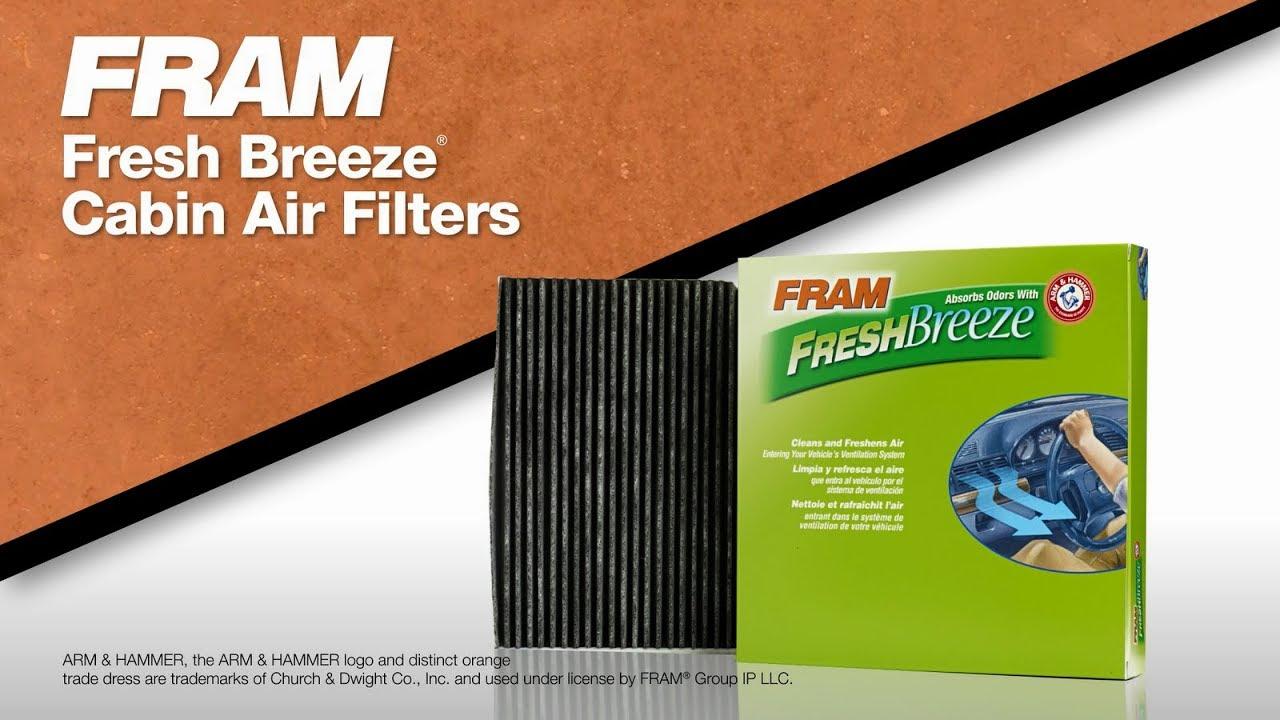 FRAM FRESH BREEZE® Cabin Air Filters & How to Install | FRAM