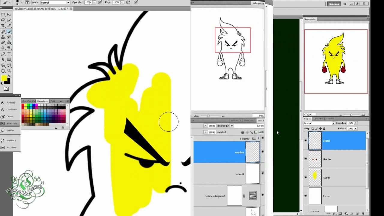 Tutorial photoshop como crear tu propia mascota logo for Como disenar mi propia casa