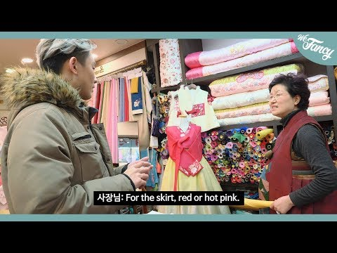 7 AMAZING Foods & Cute Baby Hanboks! Suwon Young-dong Korean Traditional Market