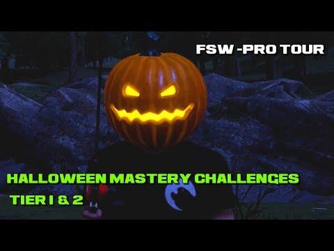 Halloween Mastery Challenges Tier 1 & 2 Fishing Sim World Pro Tour
