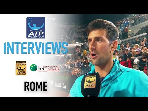 Djokovic Overwhelmed After Reaching Rome 2017 Final