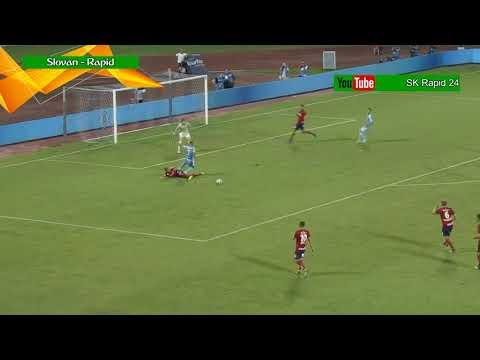 Slovan Bratislava - Rapid Wien 2:1; die Highlights | HD