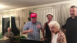 Repeat youtube video Kari-Jokie party: Putin and palliative therapy