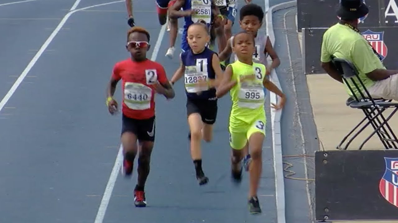Download 8-Year-Old Drops Monster 800m Kick