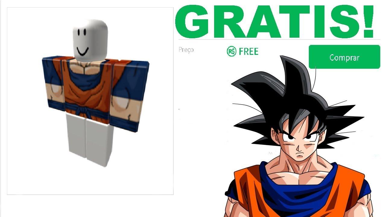 Roblox Ropa De Goku Objetos Gratis En Roblox