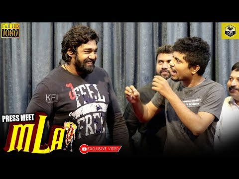 Dhruva Sarja In Olle Hudga Pratham's MLA Movie Song Launch | Action Prince | Dhruva Sarja Next Movie