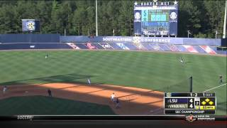 05/26/2013 LSU vs Vanderbilt Baseball Highlights