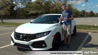 Review: Tuned 2018 Honda Civic Si Coupe