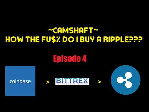 How The Fu$% Do I Buy A Ripple Using Bittrex?