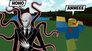 NOOB LAR SLENDERMAN MAKES THE PAST / Roblox English