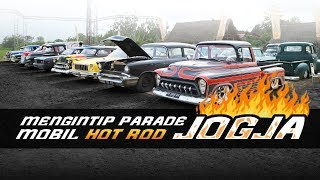 Mengintip Parade Mobil Hot Rod Jogja
