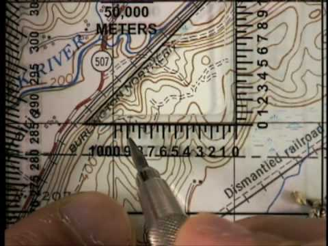 Protractor Use YouTube - Us army guide to map reading and navigation