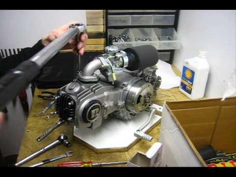 Honda TB 88 with RH Installation Part 2