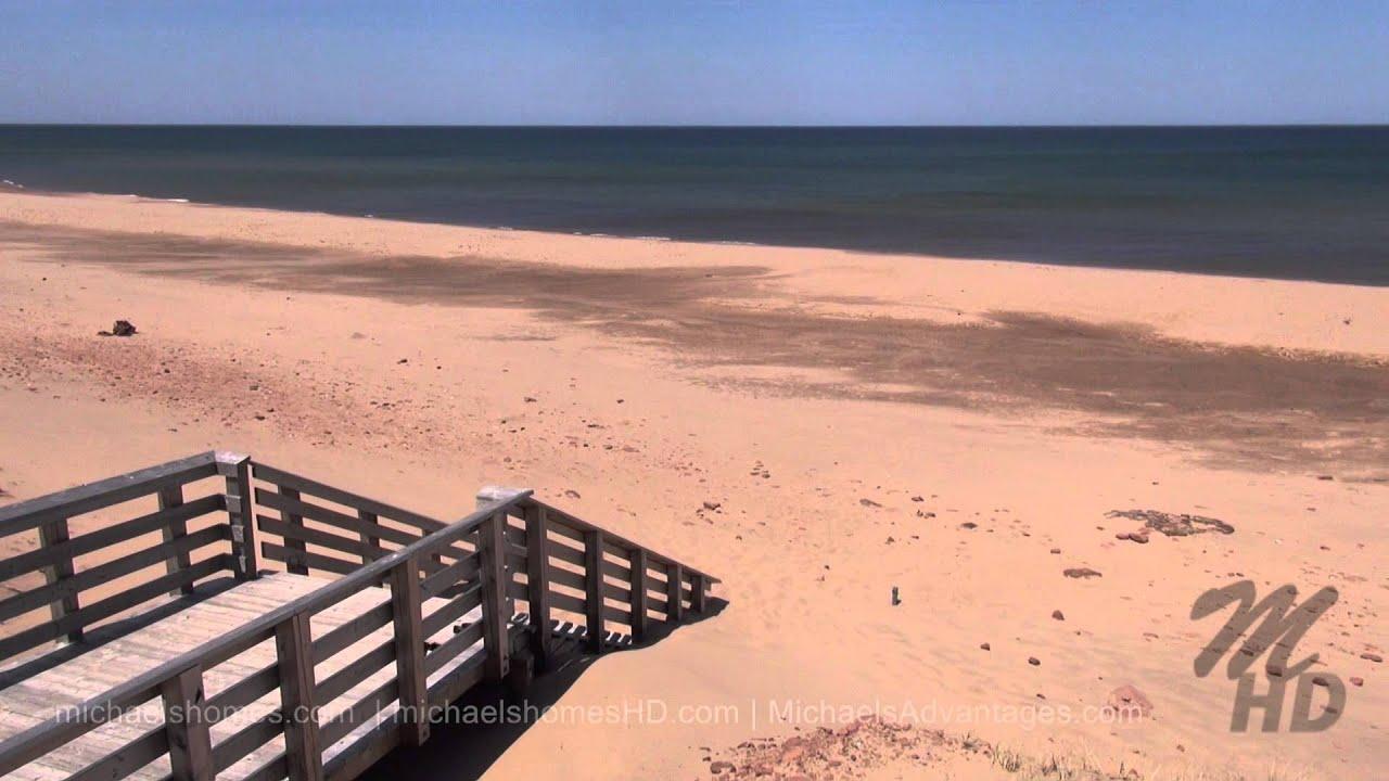 Cavendish Beach Prince Edward Island Canada Pei Tourism West Of Charlottetown East Of Summerside Youtube