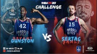 KIA ile #NBA2K20 Challenge: Bryant Dunston vs. Sertaç Şanlı