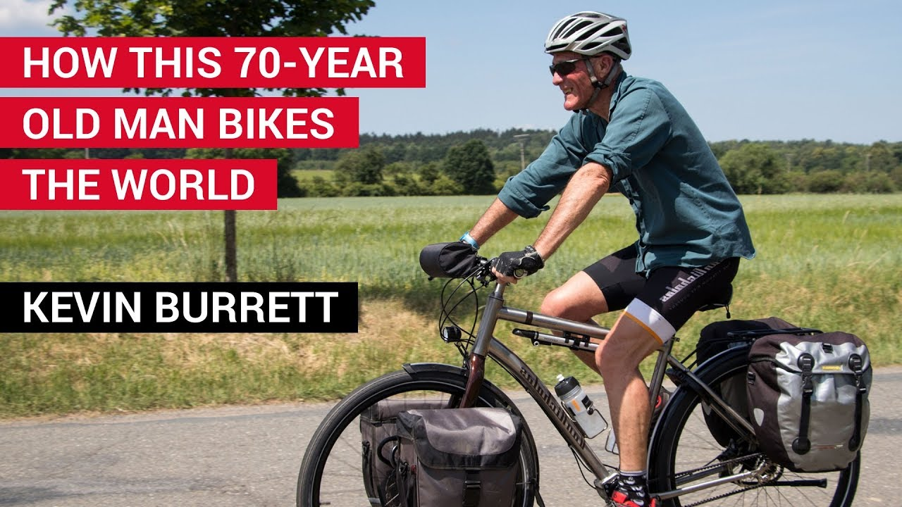 70-Year-Old Man Travels the World by Bicycle - Who Is Kevin Burrett?