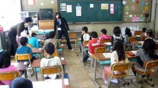 Открытый урок в 1ом классе