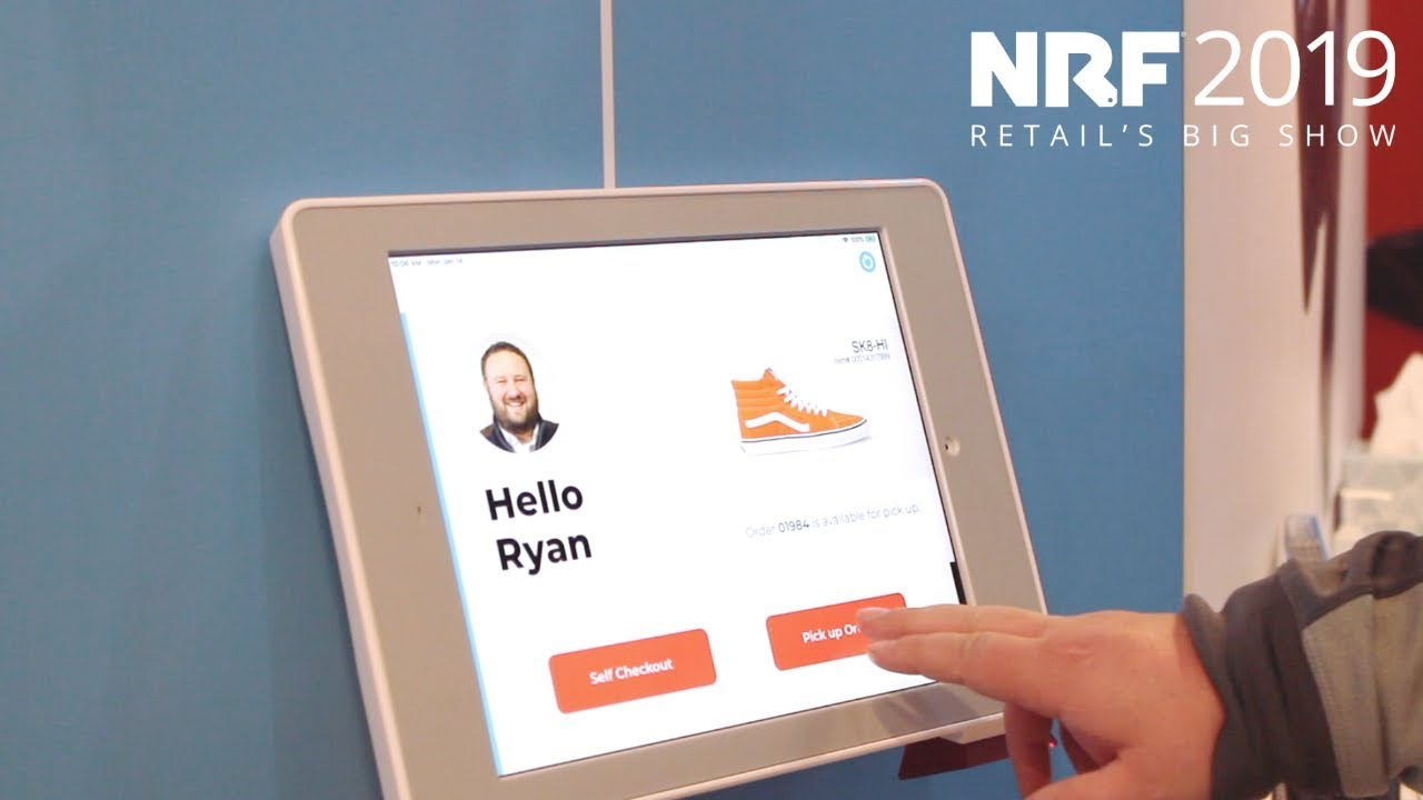 Aila at NRF 2019: Experience Seamless - Self-Service
