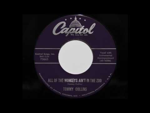 Tommy Collins  All Of The Monkeys Aint In The Zoo Capitol 3665