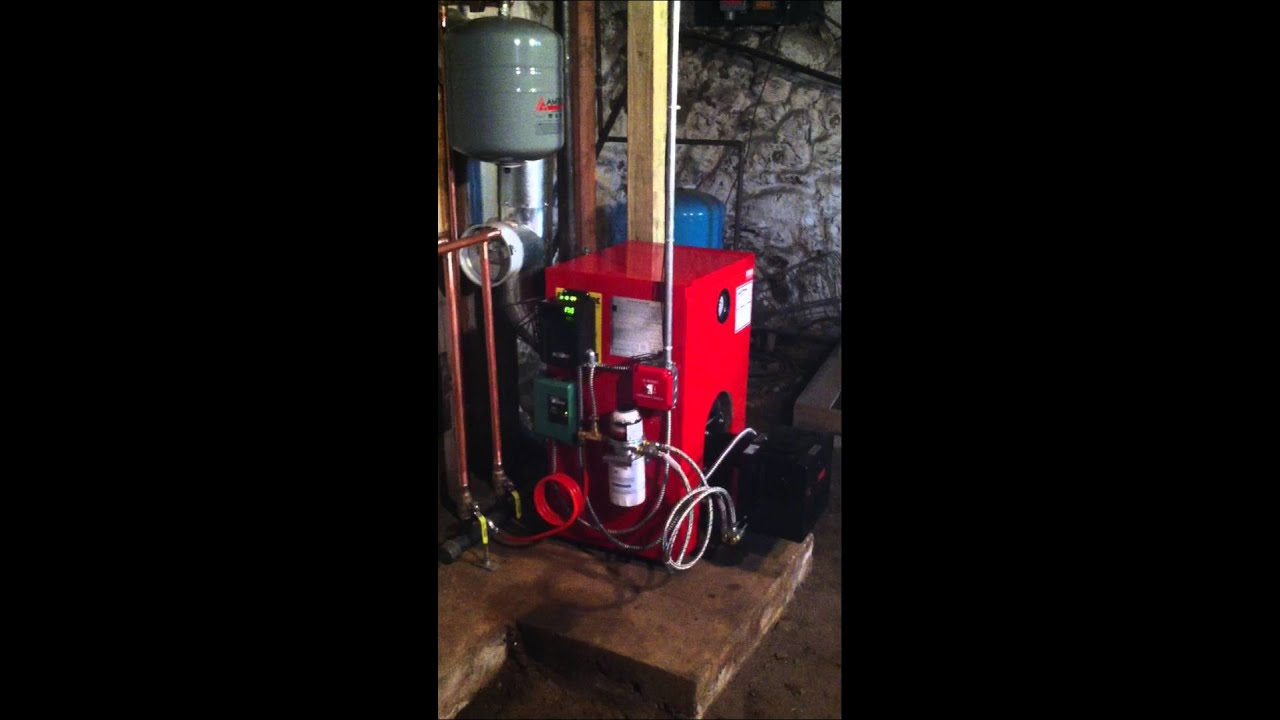High Efficiency Biasi Oil Boiler | Skovron Mechanical Services - YouTube