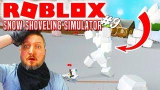 NY SVÆR MANIACAL CUBE BOSS! - Roblox Snow Shoveling Simulator Dansk Ep 9
