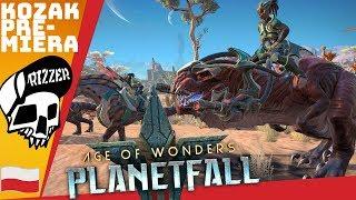 PREMIERA - Dinozaury i Strategia Turowa Sci-Fi - Age of Wonders Planetfall PL | Rizzer gameplay