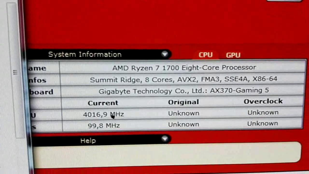 AMD Ryzen 1700 Occt + Cpu Linpack + Avx + stress 4025mhz 1 36v overclock  (Benchmark)