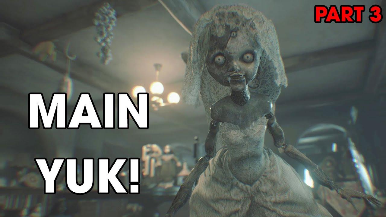 TRAUMA... 👶   Resident Evil VIllage (2021) Hardcore Part 3