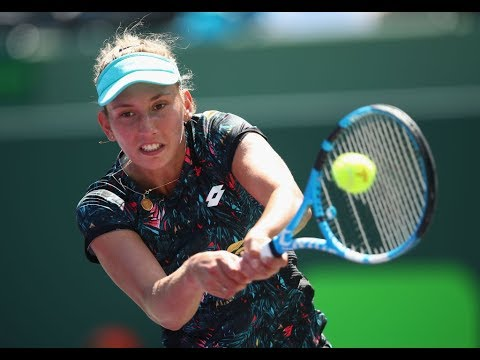 Elise Mertens vs. Vera Lapko   2018 Samsung Open Semifinals   WTA Highlights