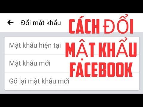 phần mềm hack pass facebook trên điện thoại - Cách đổi mật khẩu facebook trên điện thoại
