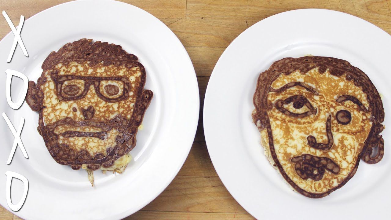 Pancake Art Challenge : Pancake Art Challenge - YouTube