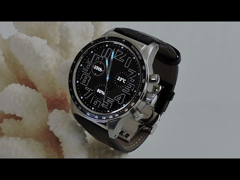 """""""Awatch Marine One""""  the finest Android 5.1 Smart watch phone (3G) round display"""