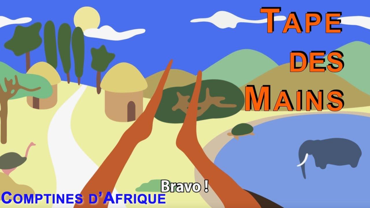 Download TAPE DES MAINS - 25mn comptines africaines à gestes (avec paroles)