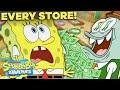 Every Store in Bikini Bottom EVER! 🤑 SpongeBob