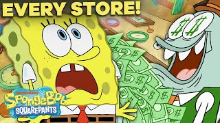 Every Store In Bikini Bottom EVER! 🤑 SpongeBob