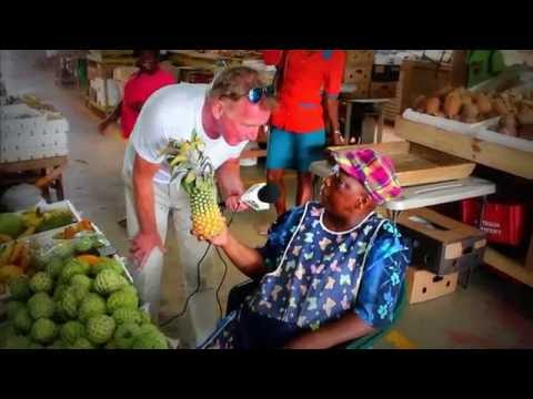 Nigel Williams in Antigua - Day 4 (Fruit and Vegetable Market)