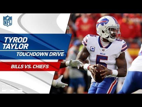 Tyrod Taylor Takes Buffalo Downfield on Big TD Drive vs. KC! | Bills vs. Chiefs | NFL Wk 12
