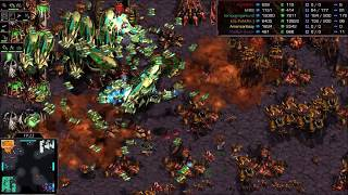 Fastest Map Ever 3v3! on Super - StarCraft  - Brood War REMASTERED