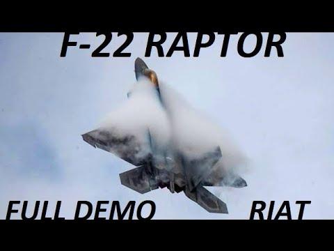 F-22 SPECTACULAR FULL
