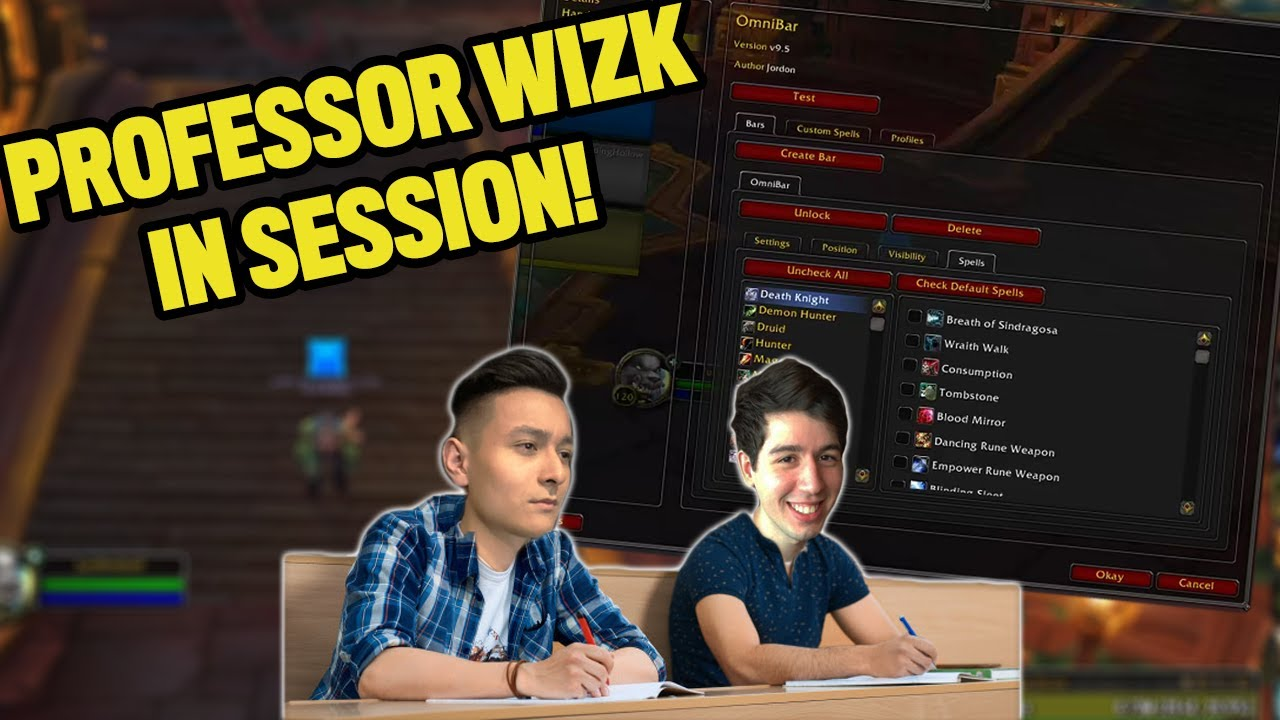 WIZK TEACHES THE TEAM HOW TO USE ADDONS?   The Move