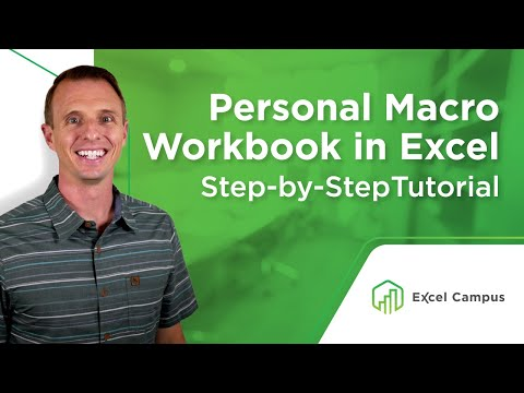 How to Create a Personal Macro Workbook in Excel and Why You Need It ...