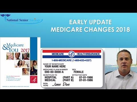 MEDICARE CHANGES 2018