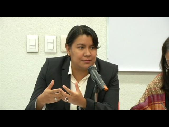 Discurso de la Dra. Perla Gómez