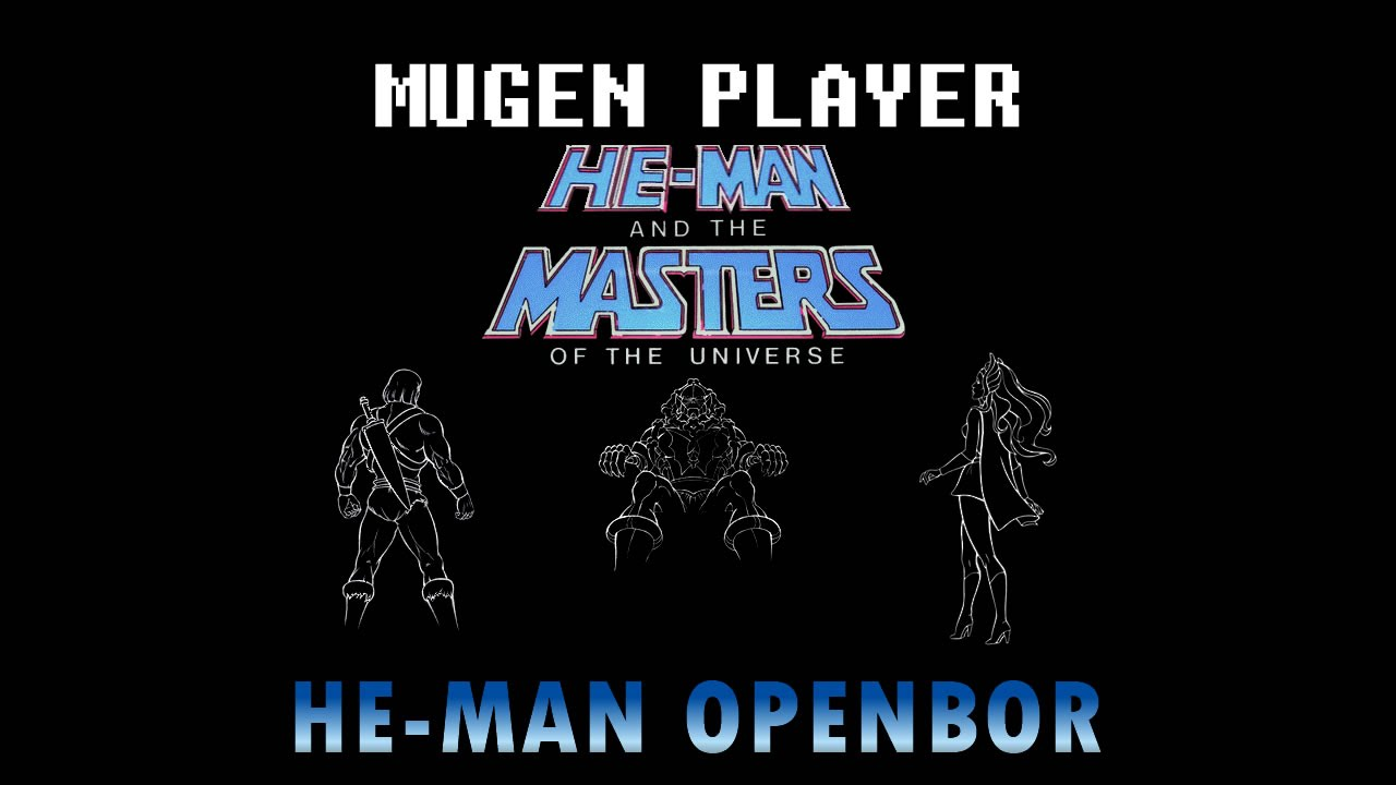 HE-MAN AND THE MASTERS OF THE UNIVERSE OPENBOR