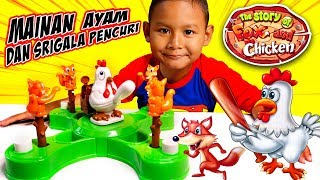 Praya Bermainan Mainan Ayam dan Serigala | Mainan Binatang