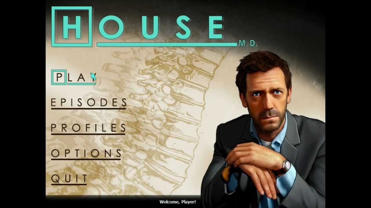 IT'S NOT LUPUS - House, M.D. The Game - (Part 1) - YouTube Hugh Laurie 2012